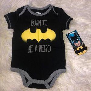 0-3m Batman onesie